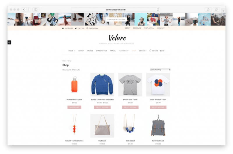Monetize fashion blog with WooCommerce.