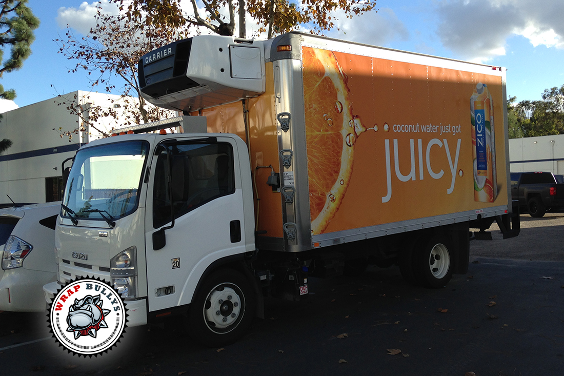 Custom Box Truck Wrap   Graphic Wraps