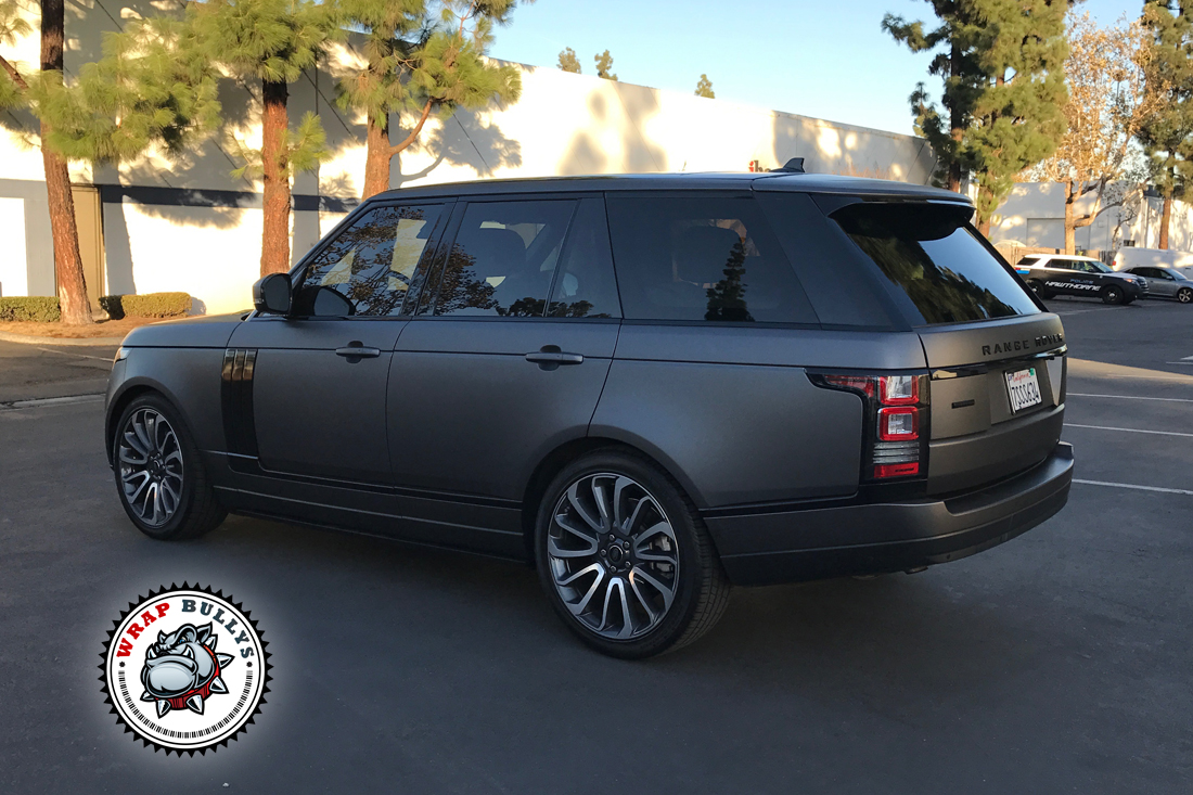 Custom Matte Wrap Supercharged Autobiography. Call us today for pricing.