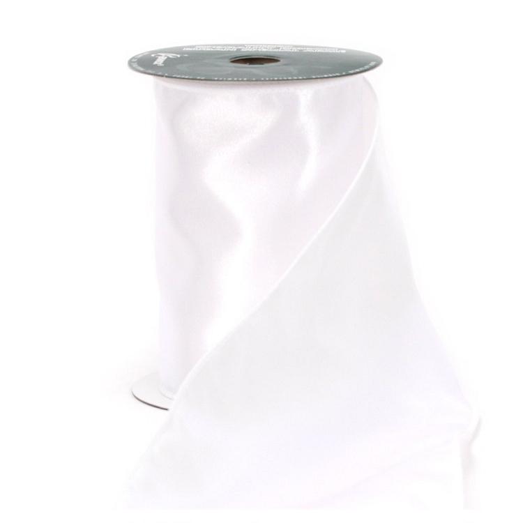 white cotton candy ribbon