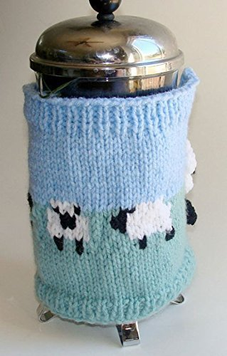 Sheep French Press Cozy