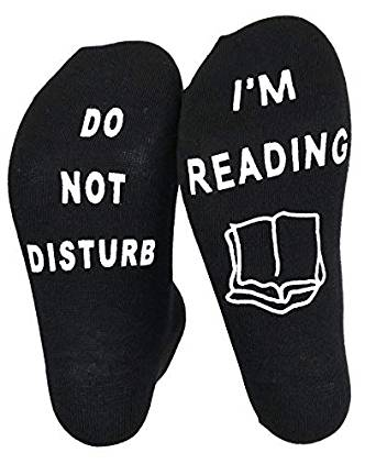 I'm reading socks