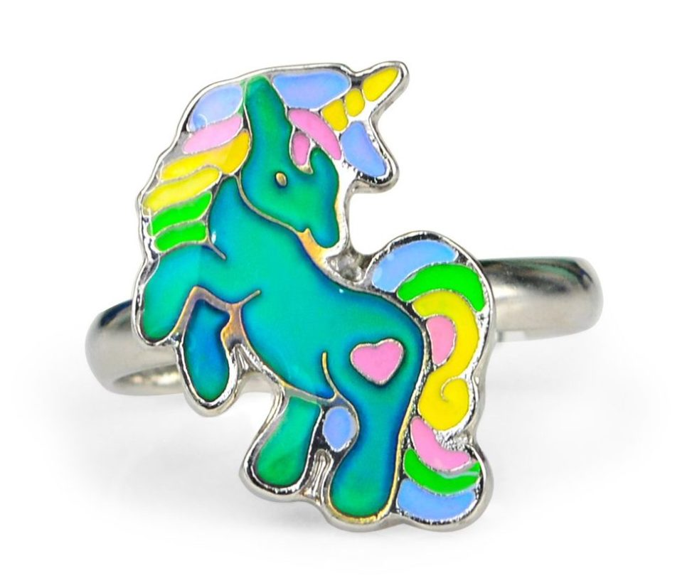 Unicorn mood ring