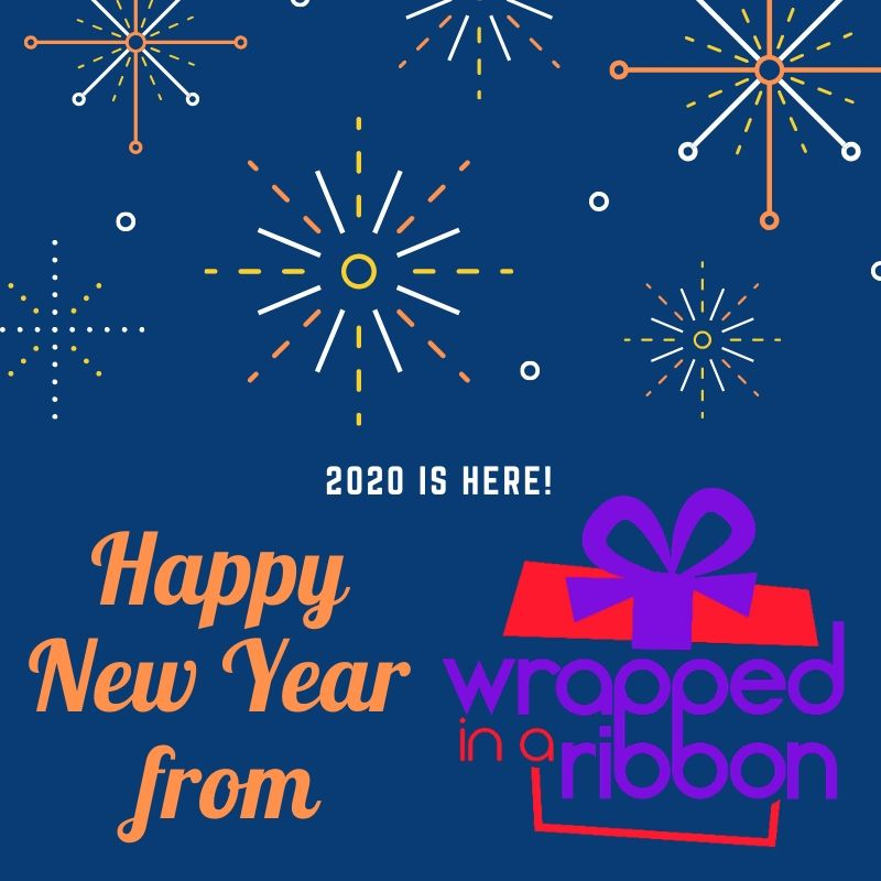 Happy New Year from Wrapped In A Ribbon