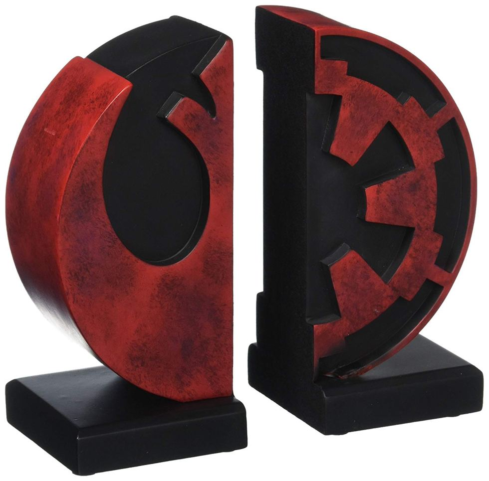 Imperial Rebel Logo Bookends