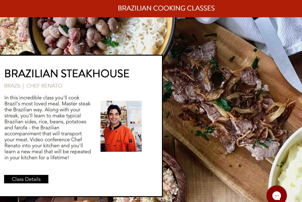 The Chef and The Dish Brazillian Cooking Classes