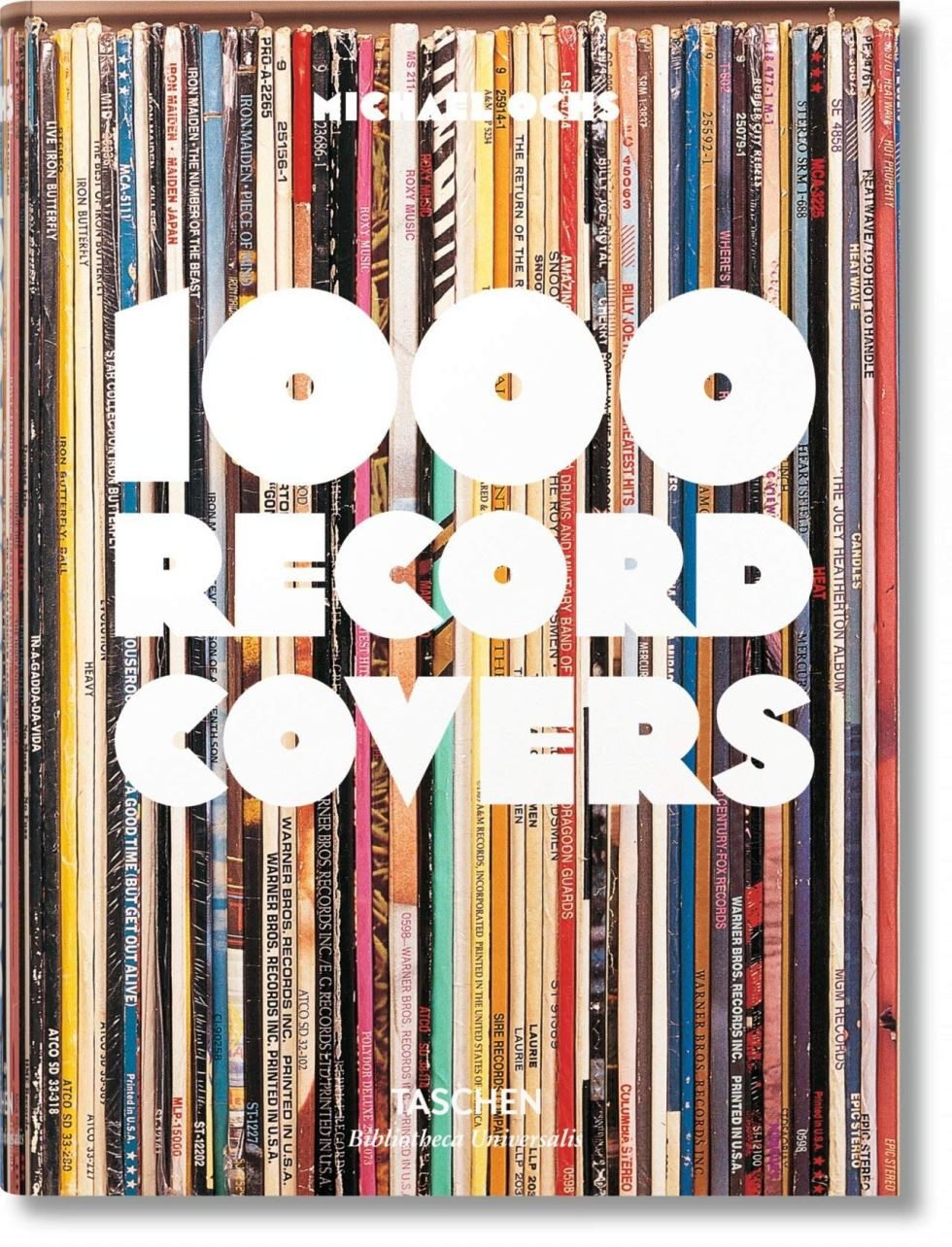 1000 Record Covers book gift for music lovers