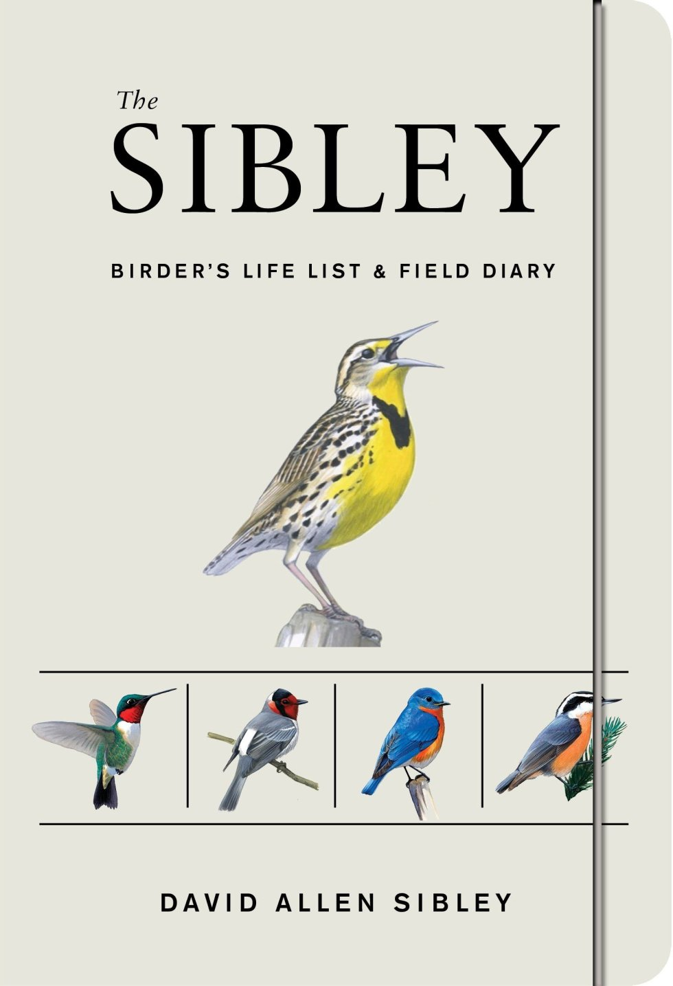 The Sibley Birders Life List and Field Diary for birding