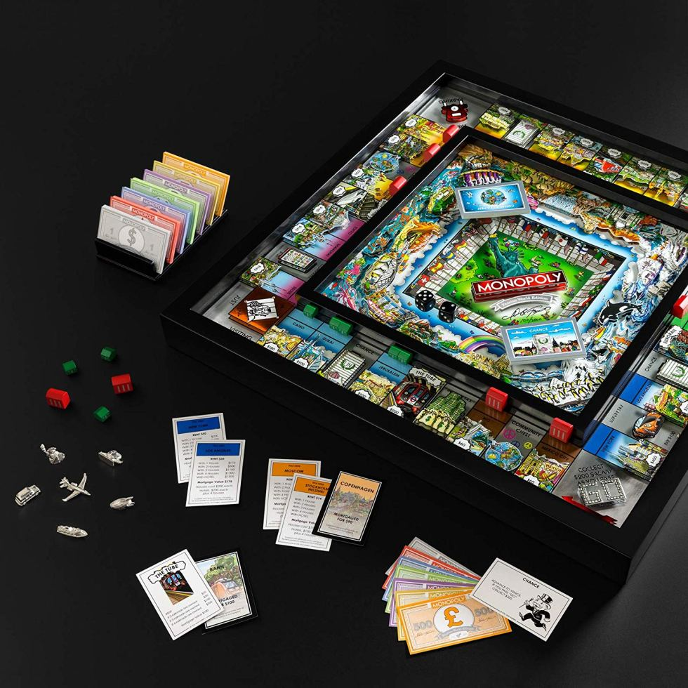 World Monopoly Game