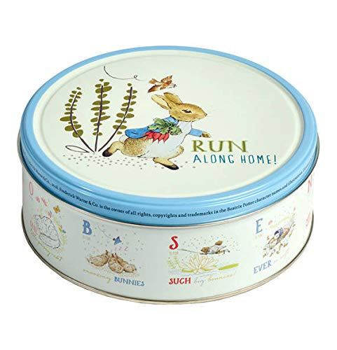 Danish cookie tin with Peter Rabbit