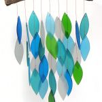 Glass Waterfall Wind Chimes for gifts