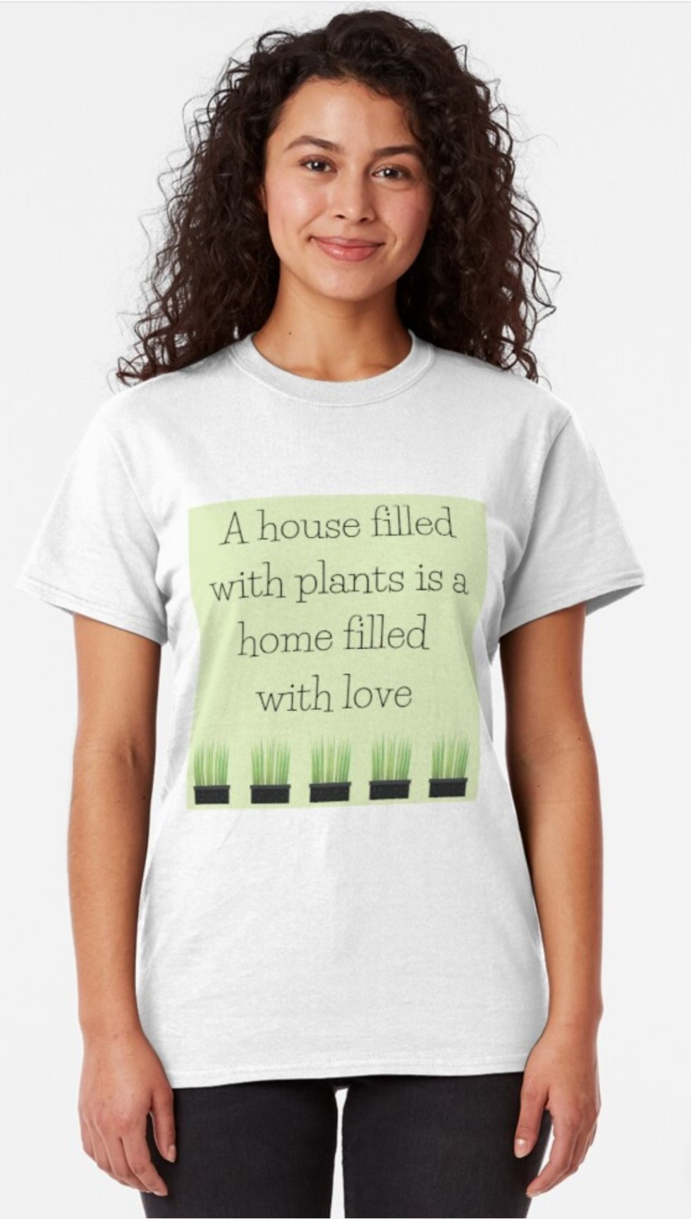 House Filled With Plants T-shirts for plant lovers