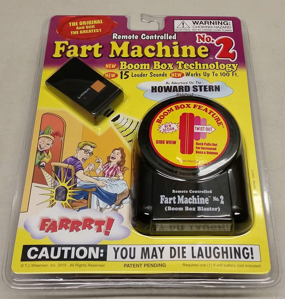 Remote Controlled Fart Machine April Fools Day gifts