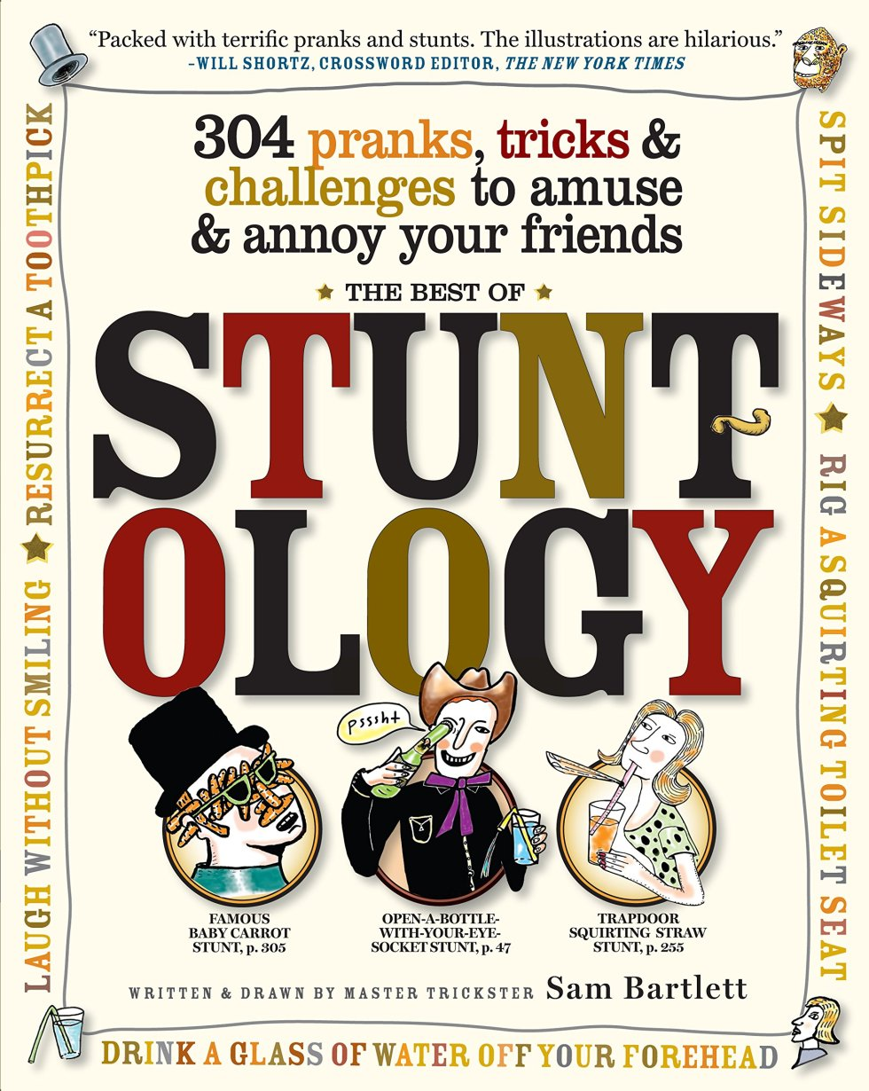 Stuntology April Fools Day gifts