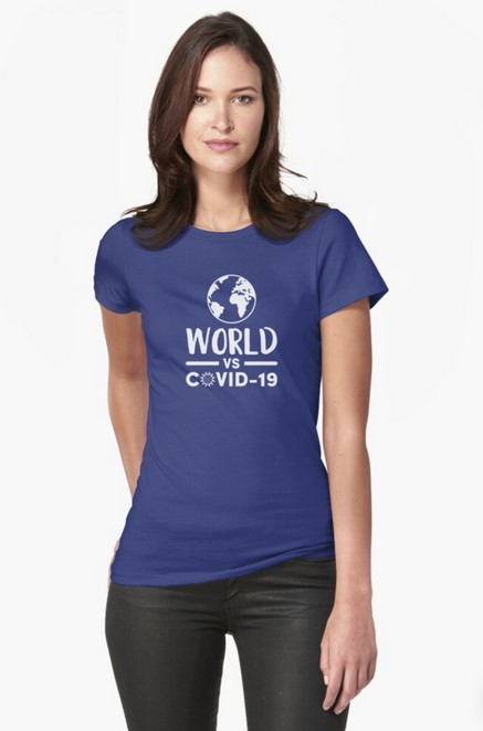World vs Covid-19 T-shirt