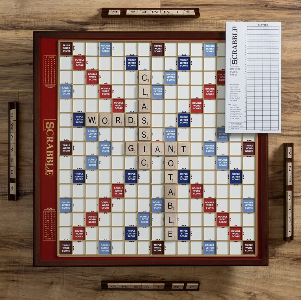 Scrabble Gifts Game Board