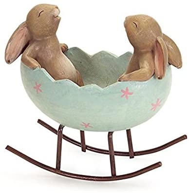 Figurine bowl buny decorations for gifts