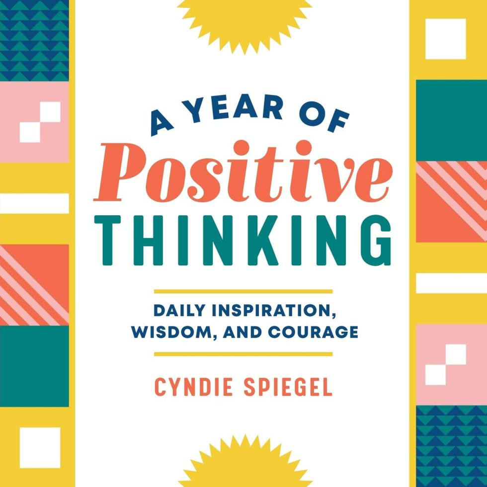 A Year of Positive Thinking book inspirational gifts