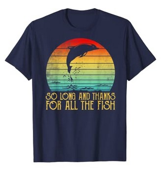 All the fish Tshirt Hitchhikers Guide to the Galaxy gifts