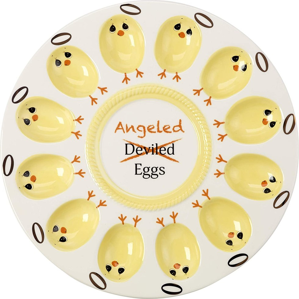 Angeled Eggs tray gifts for eggs