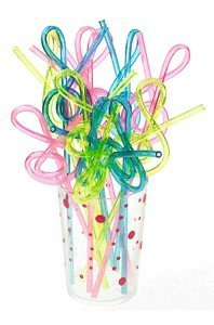Clef straws music themed kitchen utensils for gifts