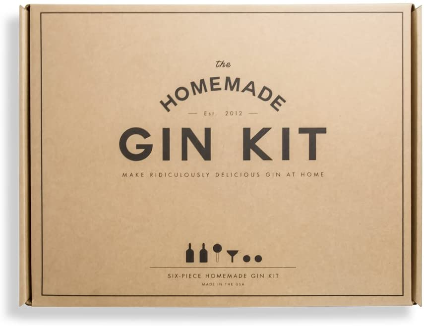 Homemade gin kit cocktail gifts