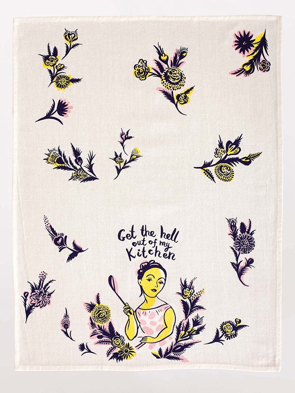 Out of my kitchen funny dish towel for gifts