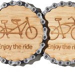 Chain coasters for bikers