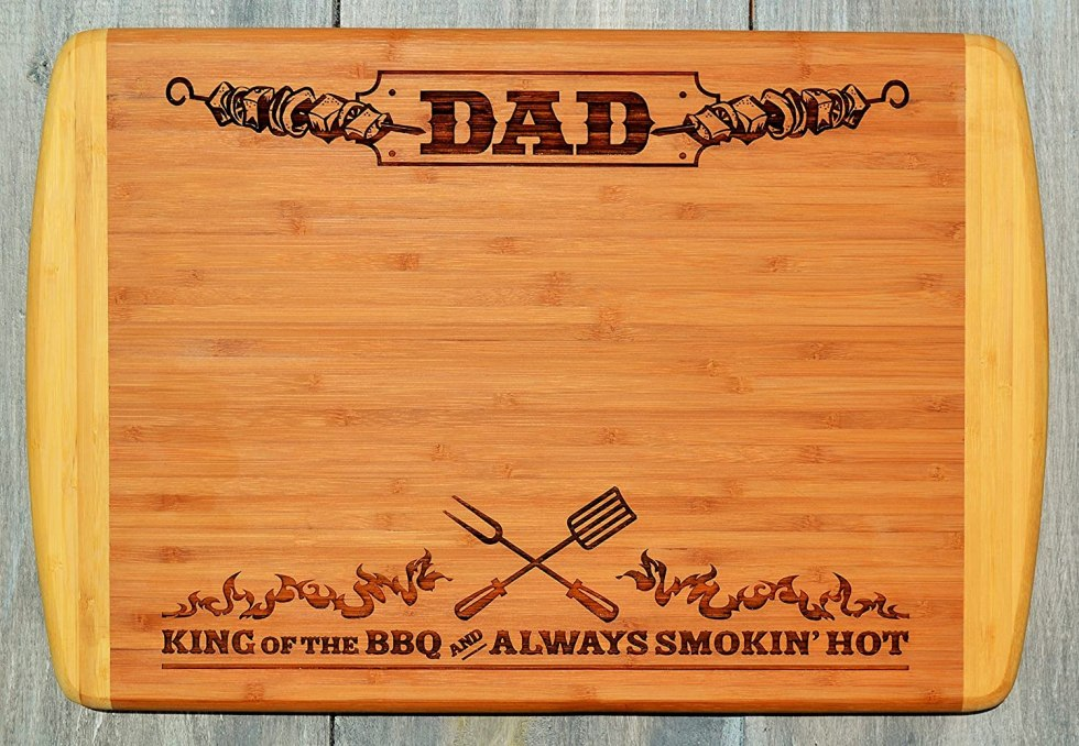 Engraved cutting board fathers day gifts 2020