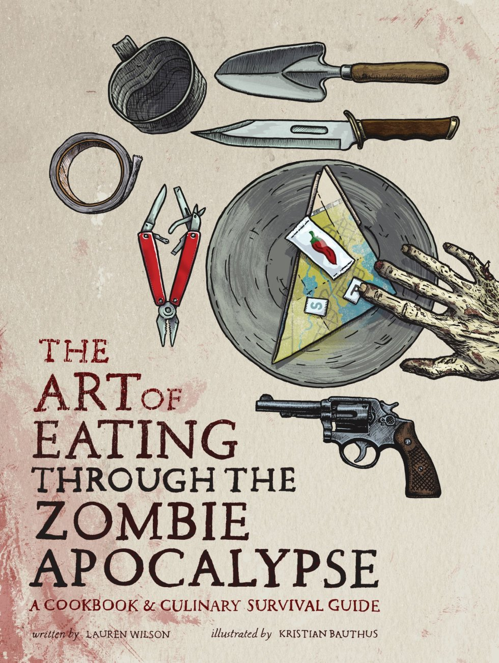 zombie cookbook gifts