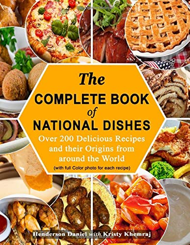 National Dishes Cookbook international gifts