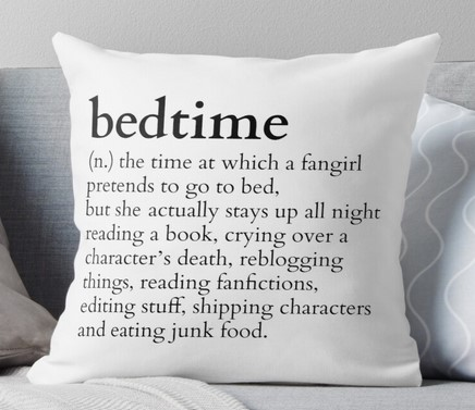 bedtime reading pillow book gifts