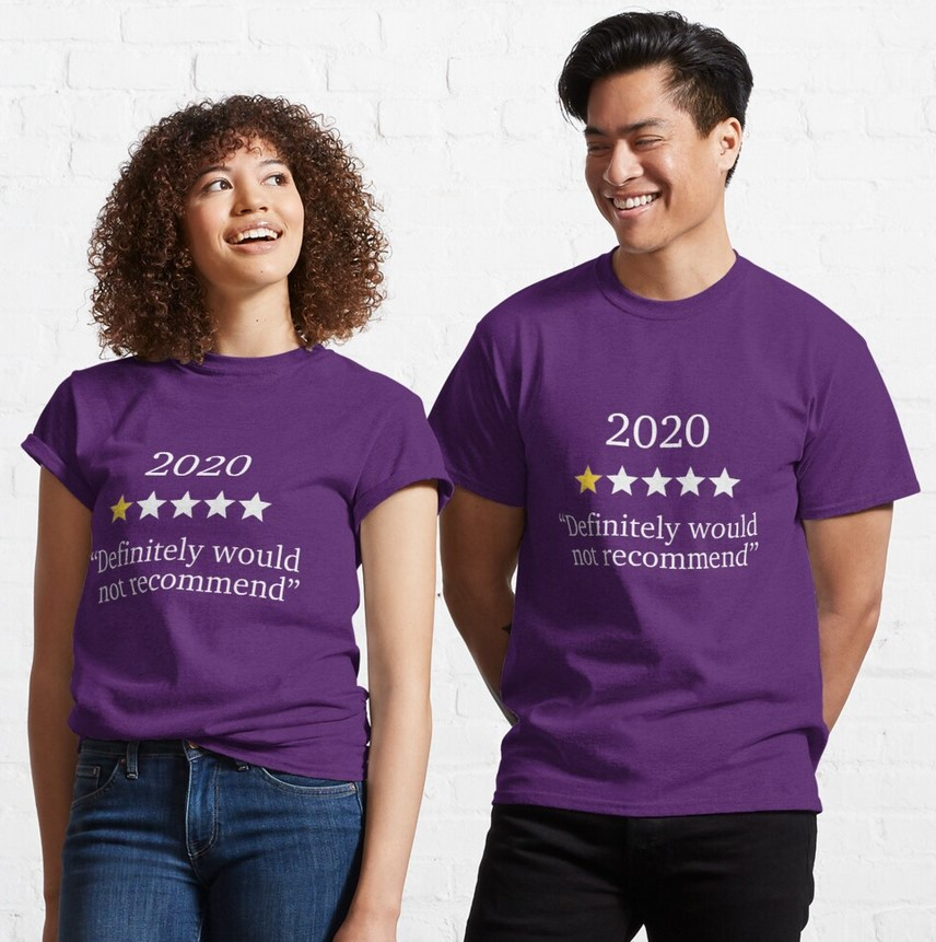 one star 2020 tee gifts