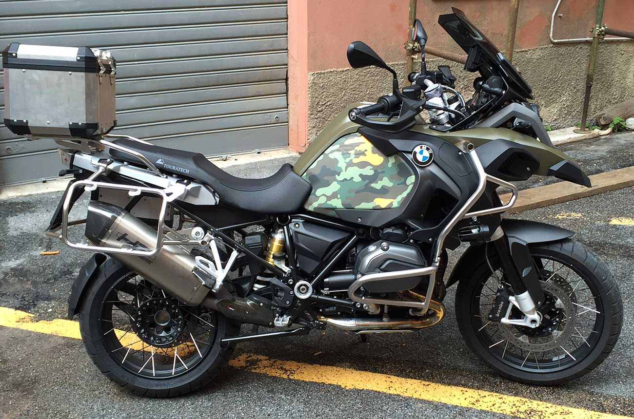 Bmw Gs 1200  Moto Wrapping