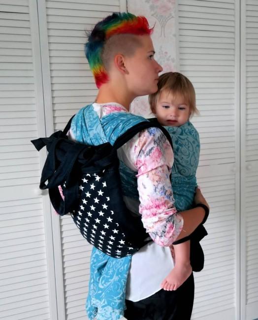 Tutorial: Bo-yee babywearing bag (and a backcarry)