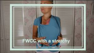FWCC with a stretchy wrap – Newborn Image