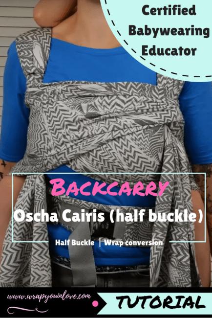 Oscha Cairis backcarry ( half buckle ) Image