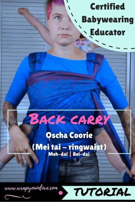 Oscha Coorie backcarry (toddler) Image