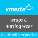 Babywearing coats, warps, nursing & maternity wear.
