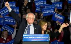 Photo Credit: J. David Ake, AP. Senator Bernie Sanders and his wife, Jane.