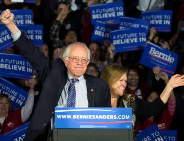 Photo Credit: J. David Ake, AP. Senator Bernie Sanders and his wife, Jane.