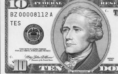 Alexander Hamilton's $10 Portrait