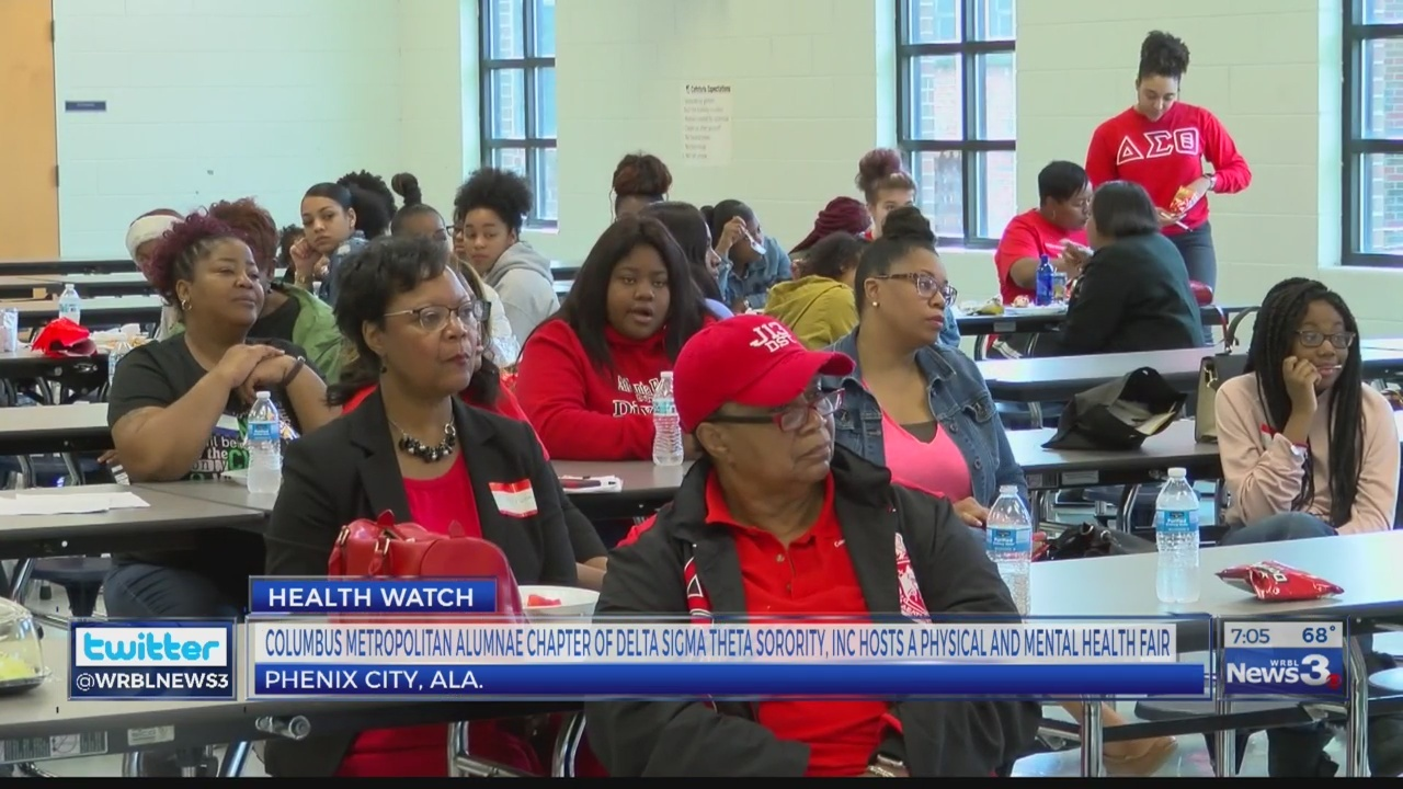 Columbus Metropolitan Alumnae Chapter of Delta Sigma Theta hosts a physical and mental health watch