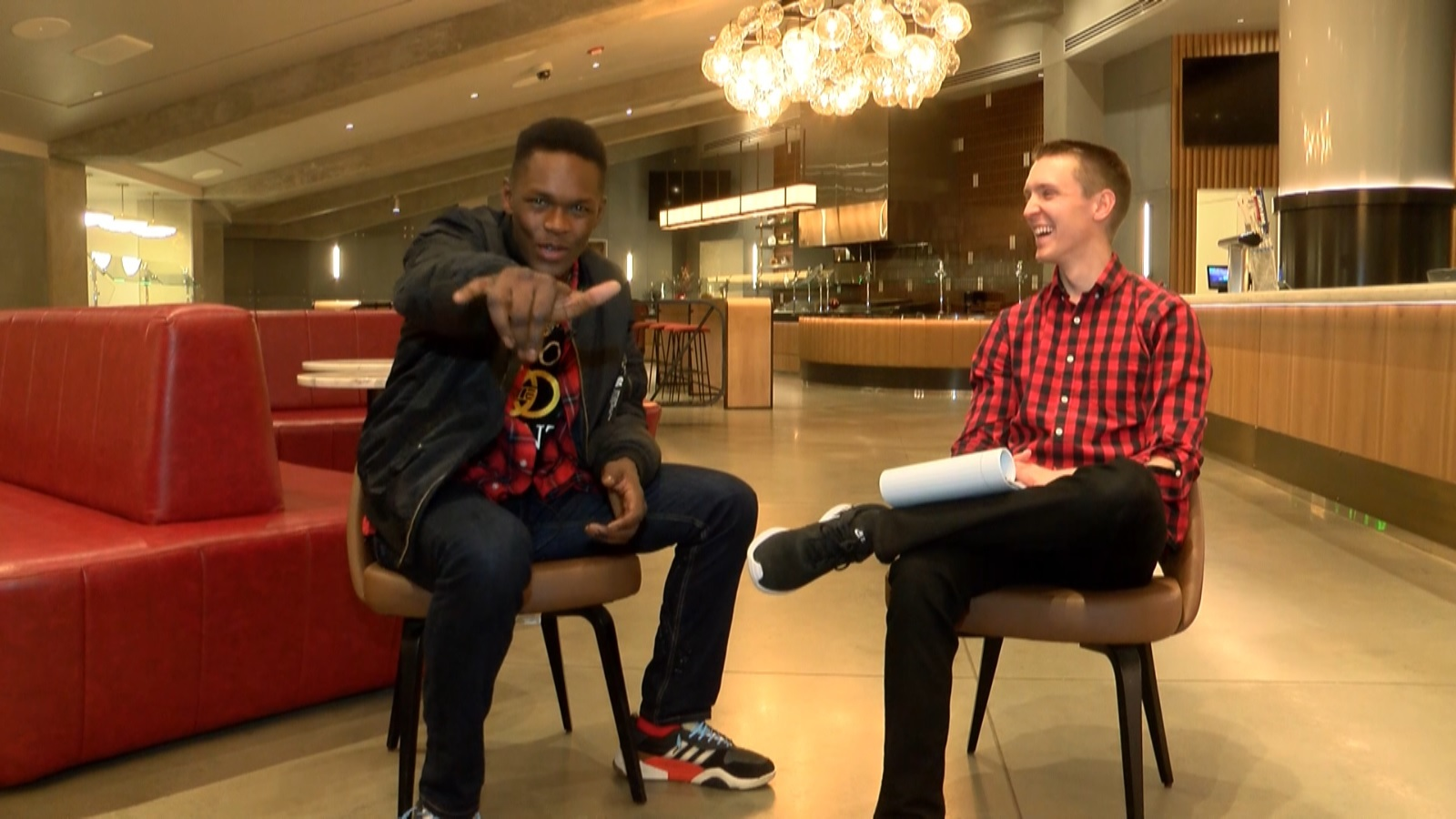 One-on-one interview with Israel Adesanya