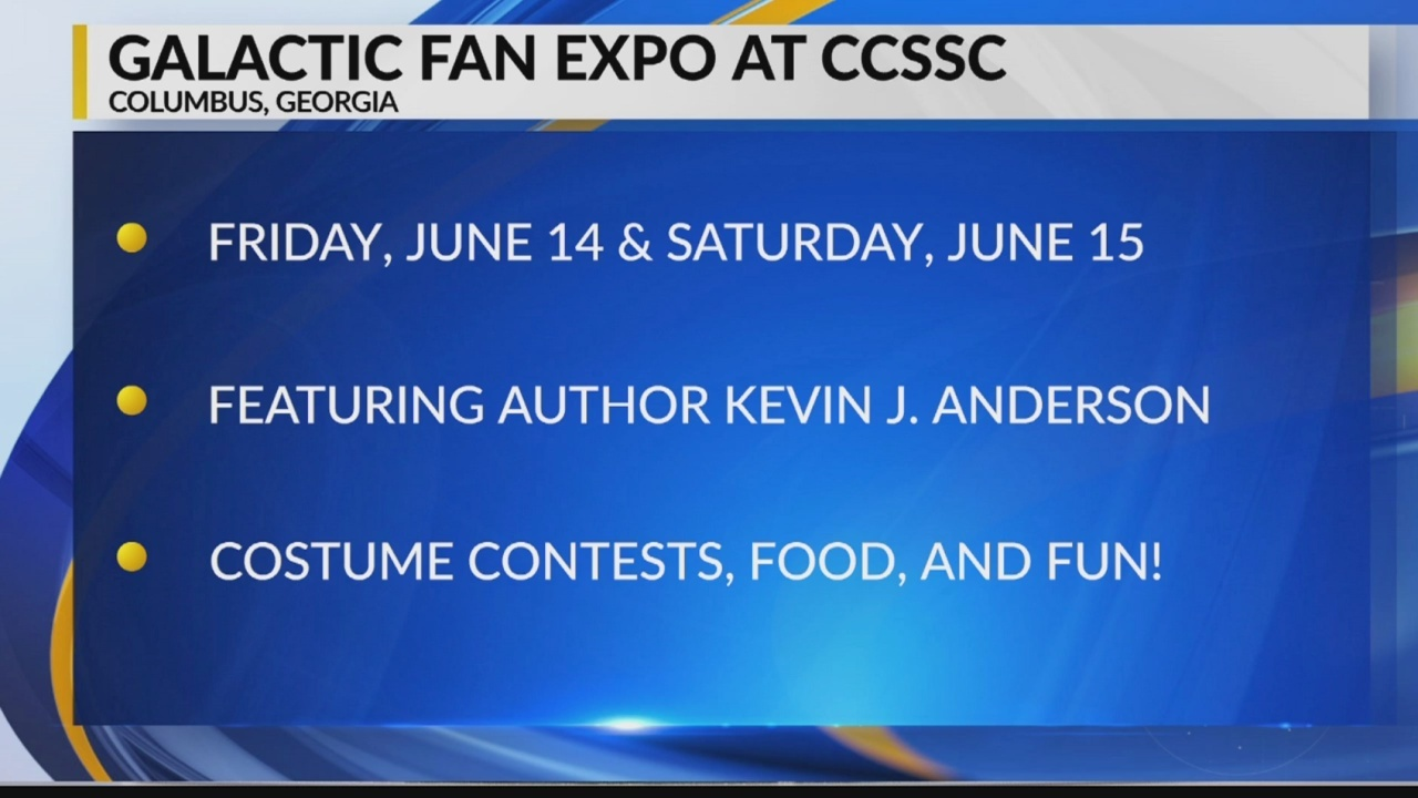 Galactic Fan Expo this weekend at CCSSC