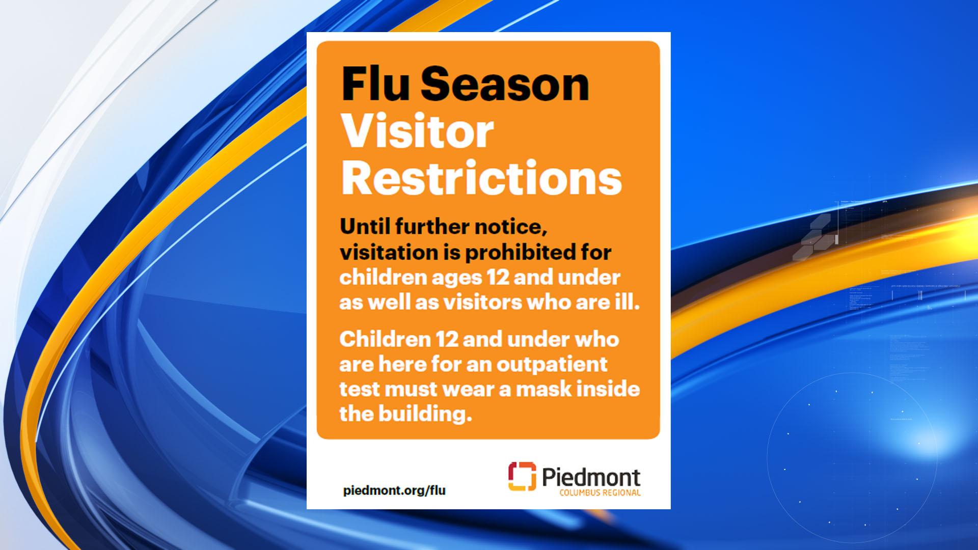 Piedmont Columbus Regional places restrictions on visitation due ...