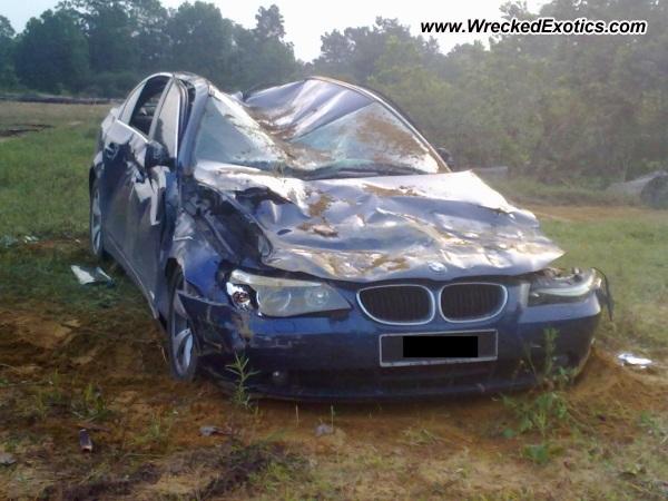 Ascari Kz1 Car Wallpaper Jpg Bmw E60 525i Wrecked Kuala Rompin Malaysia