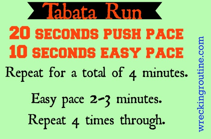 Tabata Run