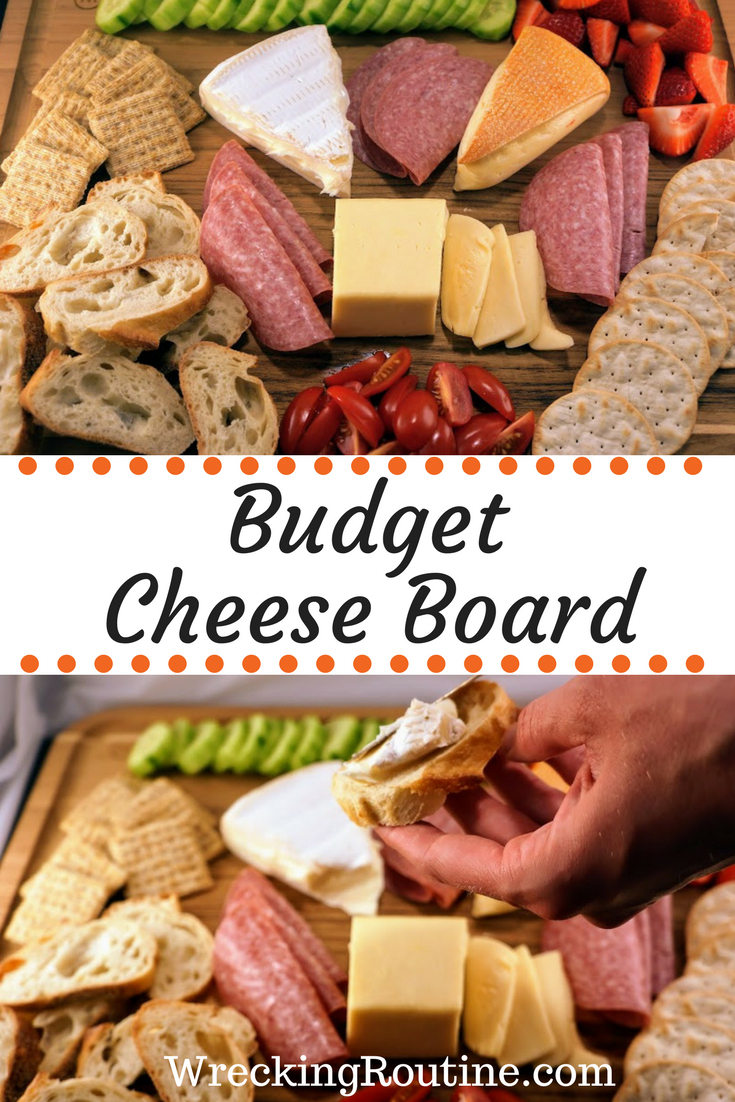 Budget Cheese Board