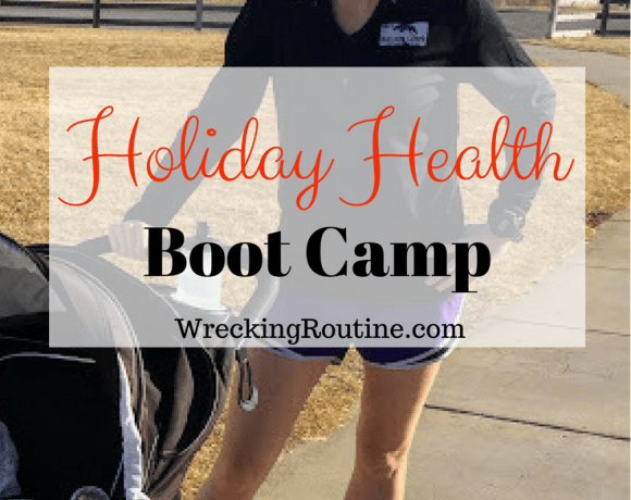 Holiday Health Boot Camp